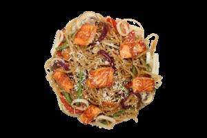 Локшина рисова з лососем<b>350г</b>