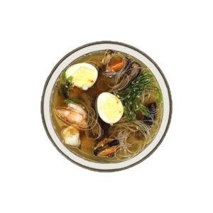 Місо суп з морепродуктами<b>450г</b>