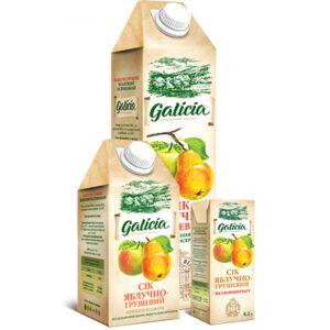 Сік Galicia яблучно-грушевий 0,2л
